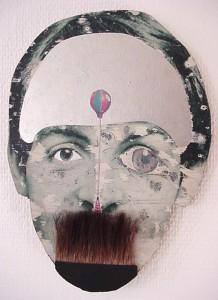 0062 Beatle med taggig mårdborst 1966