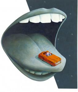 Bilen på tungan