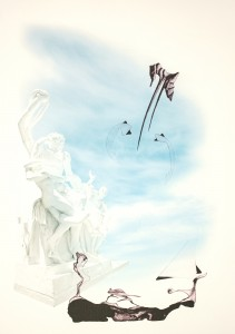 Laokoon mot blå himmel hems